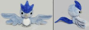 Pokemon GO! Team Mystic Articuno Plush by Lunarchik13