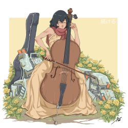 Cello Girl by aiyeahhs