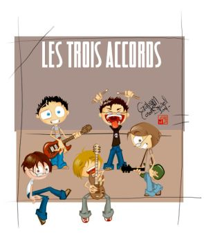 Les Trois Accords by Cosmiksquirel