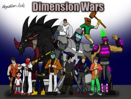 Dimension Wars Wallpaper by Playstation-Jedi