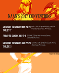 2017 Conventions by JadineR