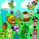 Happy Tree Friends Assemblage by 4theloveofdrawing