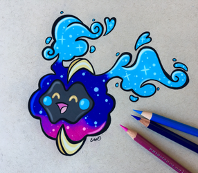 Nebby the Proto-Koffing by EmbersLament
