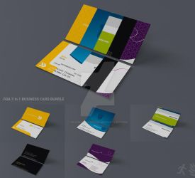 DOA 5 Business Card Bundle by design-on-arrival