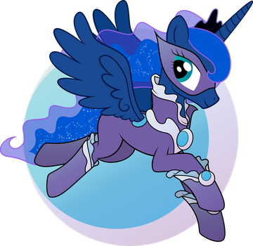 Super Luna by abydos91