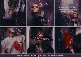 Pieces of my Broken Heart by mintSandy