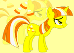 Candy Corn Ponified by xXkerrysweetXx