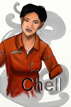 Chell by Flynn-the-cat