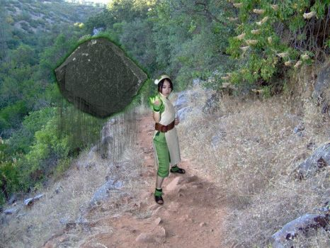 Toph: Earth Bending by IamXenon