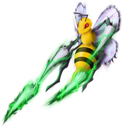 Game-Art-HQ's Pokemon Art Collaboration - Beedrill by c-r-o-f-t