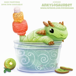 Daily Paint #2069. Ankylosaurbet by Cryptid-Creations