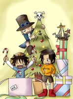 One Piece X-Mas by HumanoidHaku