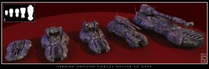 VEHICHLE-Ground Forces Roster by artsolid-science