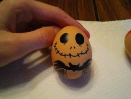 Jack Skellington Easter Egg by Monstrositynumba8
