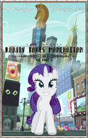 MLP : Rarity Takes Manehattan - Movie Poster by pims1978