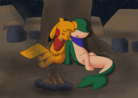 First Night in Paradise by KurtisTheSnivy