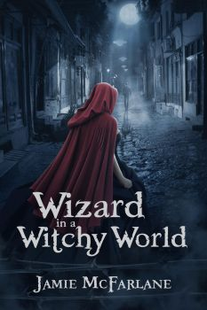 Wizard in a Witchy World cover art by Morteque