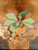 Mega Flygon by RedFire0211