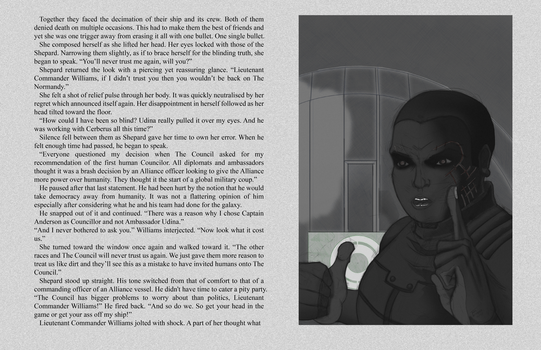 Mass Effect Lost Scrolls - It Festers (Page 2) by blood