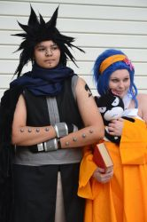 Gajeel and Levy by Black-Obsidian