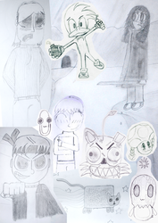 [2009-2012] Assorted Doodles and Sketches by messyb