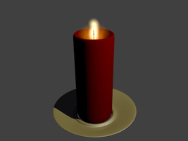 Blender: Candle GIF by Izzi1313