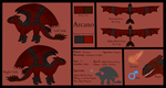 Arcano - Reference Sheet! by Loycee