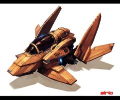 Scouter ship by Scuro