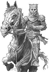 Lich and Horse by torenatkinson