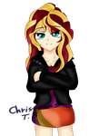 sunset shimmer by KORchristmas
