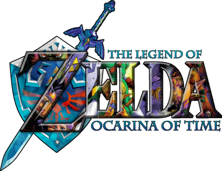 My OCARINA OF TIME selfmade Logo by SoenkesAdventure