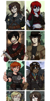FalloutAU: The gang's all here by Corpse-Face