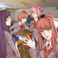 Welcome to the literature club! by Kimi-Note
