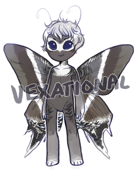 vexational - custom moth by alpacasovereign