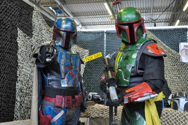 Bounty Hunters at FACTS 2015 by KillingRaptor
