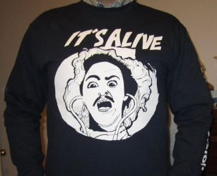 Its Alive Shirt by tedbergeron