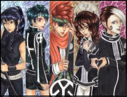 D Grayman Bookmarks color by misschievious
