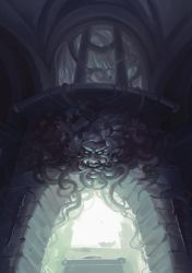 Green Man's Face by JoelChaimHoltzman