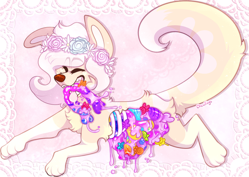 Candy Goretober :Day 6: candy/glitter by ChewToys