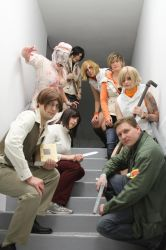 Silent Hill Group by magical-machete