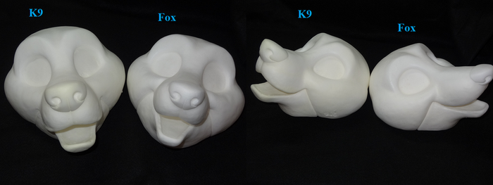 Toony Head Comparison by DreamVisionCreations