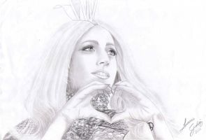 Lady Gaga by LGalvezBTW