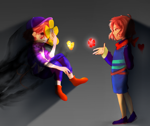 The Flower of Acceptance.. or is it? - REDRAW by Twitchy-Senpai