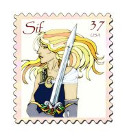 Sif's stamp by Redrupeethief