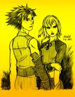 Nowe and Manah by Pokelai
