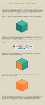 How to replace colors easily by vanmall