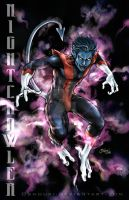 Nightcrawler 3:dark bg by Oshouki