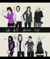 Creepypasta - We all grow up by ImaginemonsterVi