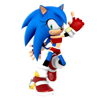 Happy Birthday SA2OAP (Render Gift) by Nibroc-Rock