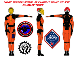 Next Genration  G flight suit XF-70 flight testing by bagera3005